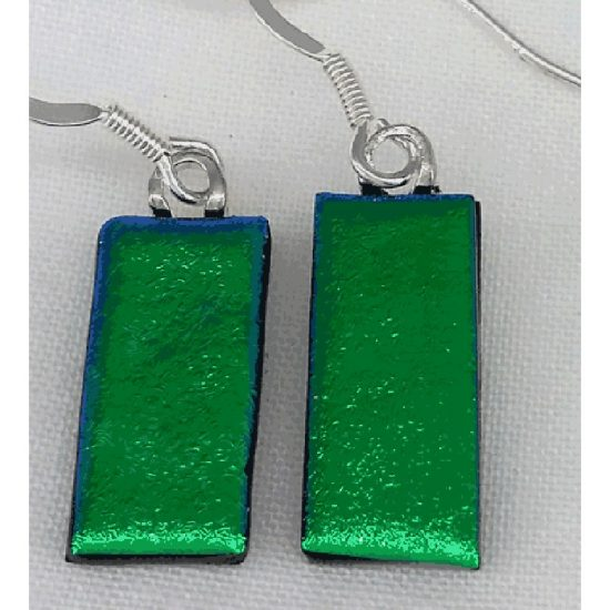 Emerald GreenDrop Earrings